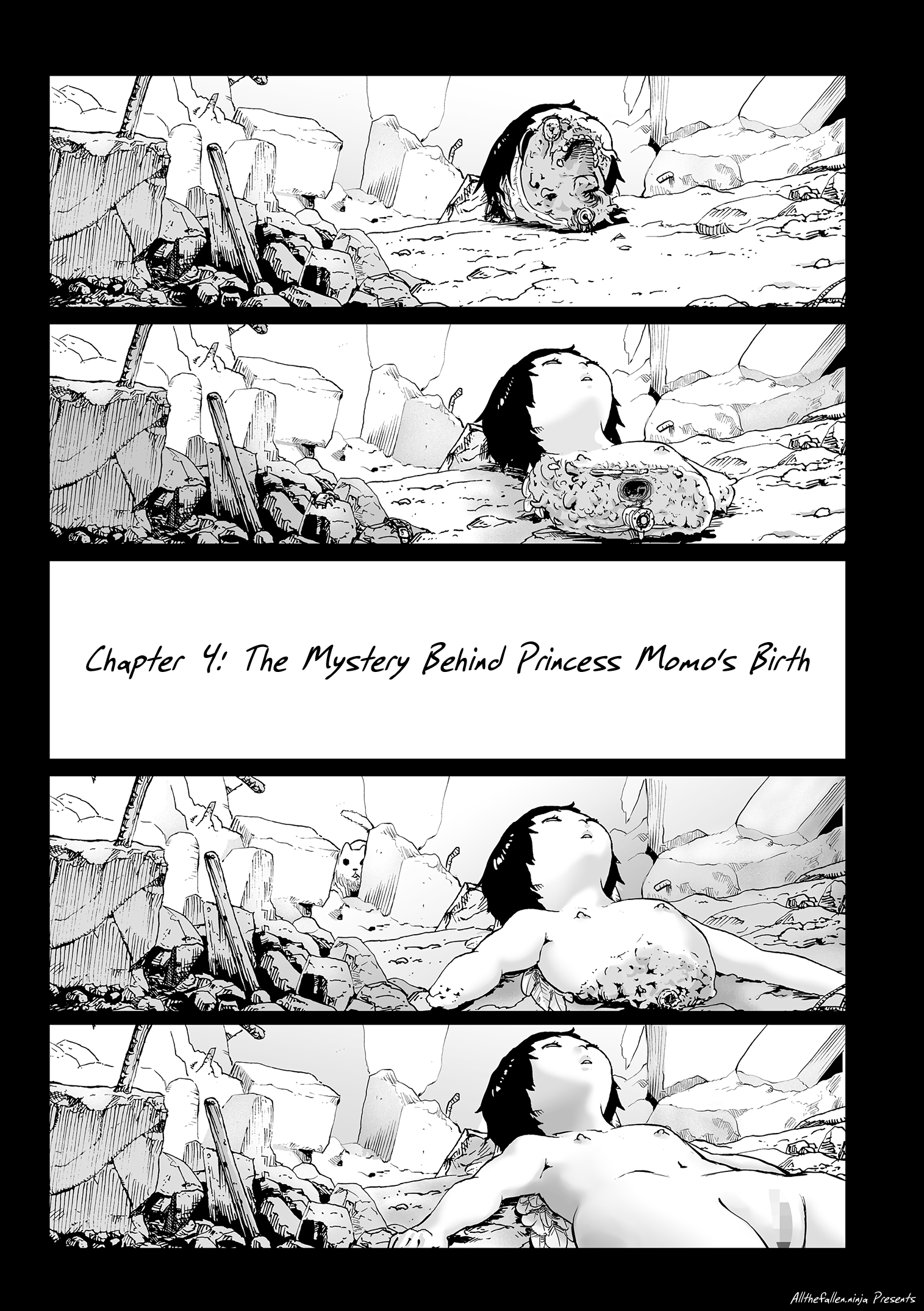 Momohime | Princess Momo Chapter 4: The Mystery