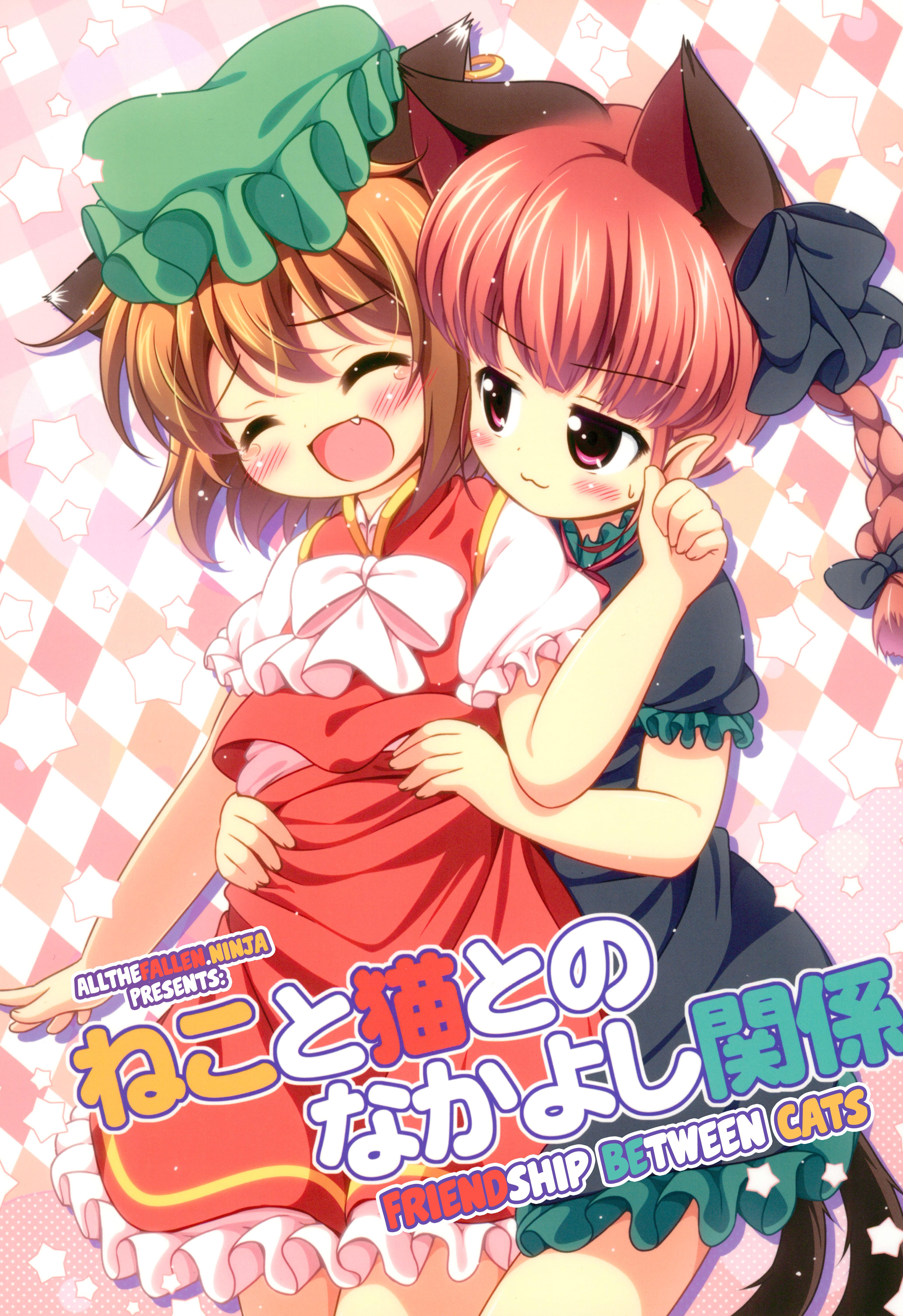 Neko to Neko to no Nakayoshi Kankei   Friendship between cats